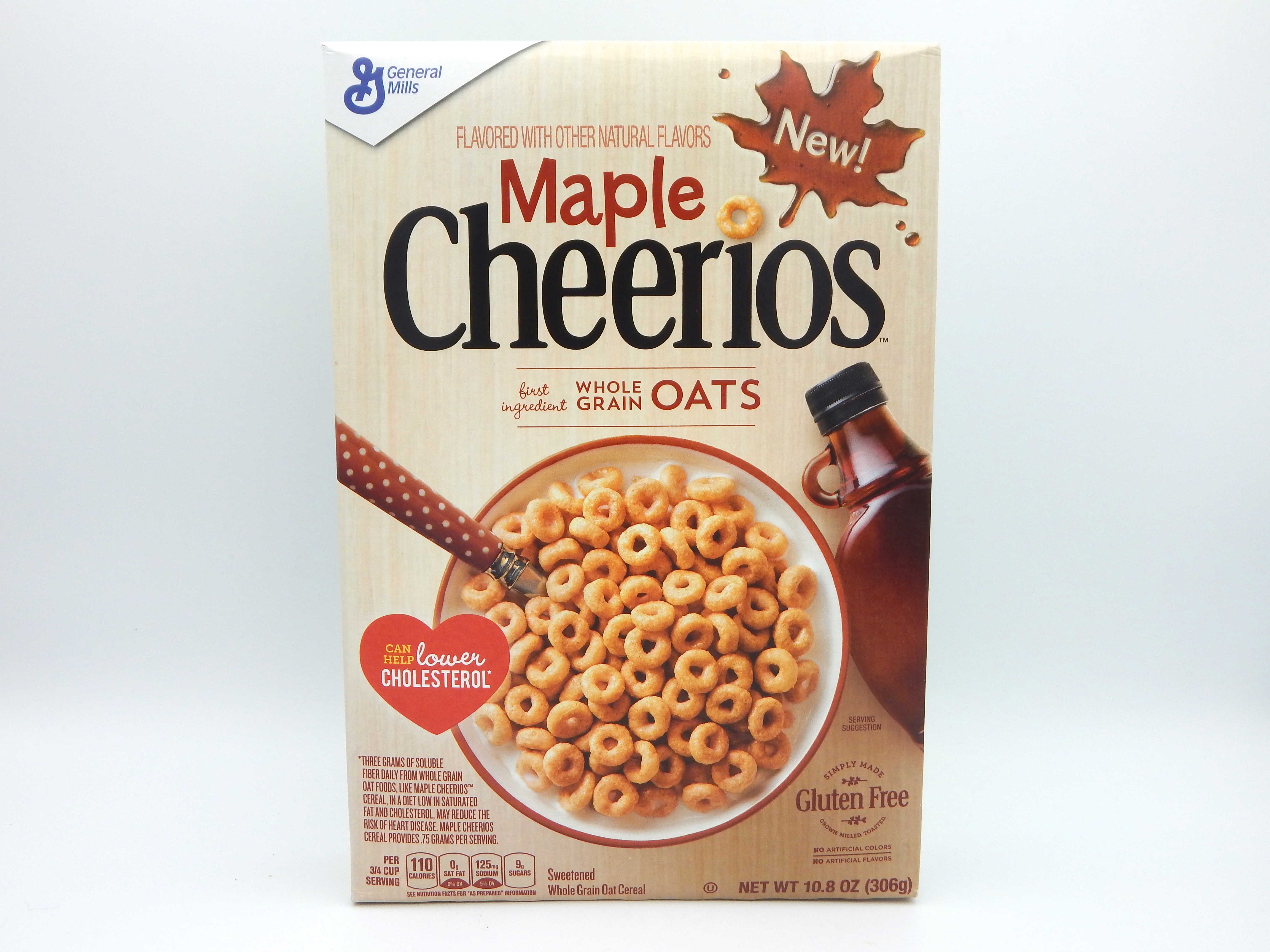 Review] General Mills Maple Cheerios